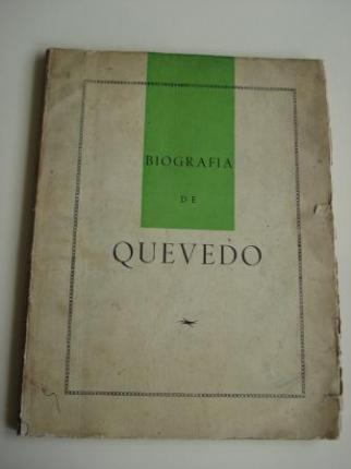 Biografía de Quevedo (Ilustrado por Suárez del Árbol) - Ver os detalles do produto