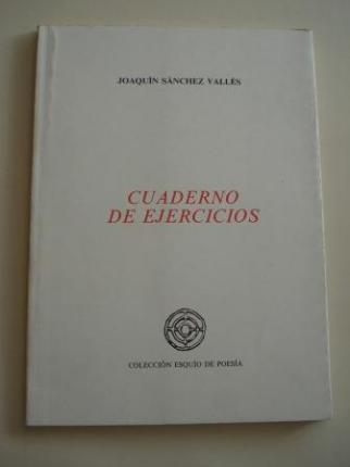 Cuaderno de ejercicios (VIII Premio Esquío de Poesía) - Ver os detalles do produto