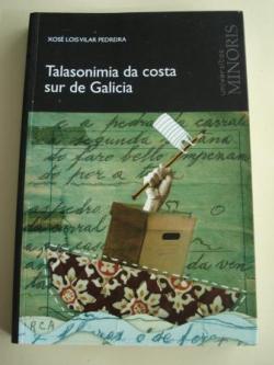 Ver os detalles de:  Talasonimia da costa sur de Galicia