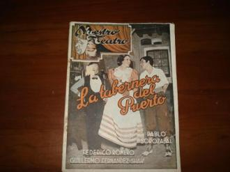NUESTRO TEATRO: F. Romero y F. Fernández Shaw: La tabernera del puerto (1ª edición) / L. Pascual Frutos: Maruxa - Ver os detalles do produto