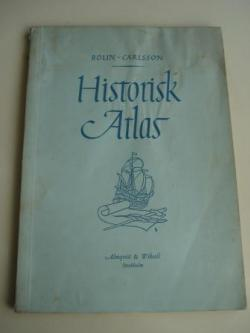 Ver os detalles de:  Historisk Atlas (Atlas histórico, textos en sueco)