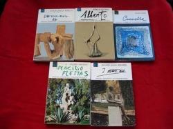 Ver os detalles de:  Lote 5 libros: 4 escultores & 1 ceramista