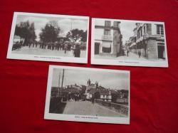 Ver os detalles de:  Lote de 3 tarxetas postais de Noia (Noya) - Década de 1920