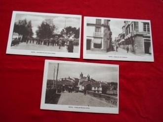 Lote de 3 tarxetas postais de Noia (Noya) - Década de 1920 - Ver los detalles del producto