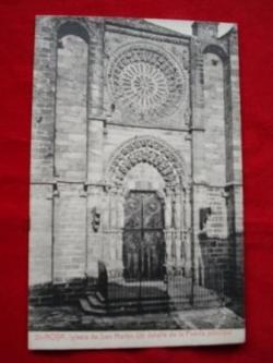 Ver os detalles de:  Tarxeta postal: Noia (Noya)- Igrexa San Martiño. 1920