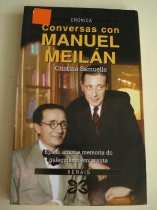 Conversas con Manuel Meilán - Ver os detalles do produto