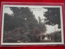 Ver os detalles de:  Tarxeta postal: Noia (Noya) - Paseo do Xardín. 1920