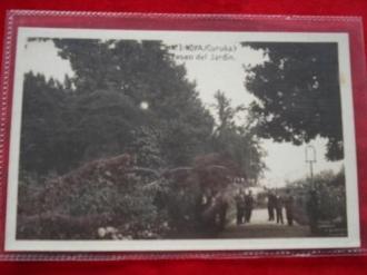Tarxeta postal: Noia (Noya) - Paseo do Xardín. 1920 - Ver los detalles del producto