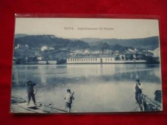 Tarxeta postal: Noia (Noya) - Inmediacións da Ponte de Noia. 1920 - Ver los detalles del producto