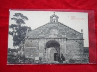 Tarxeta postal: Noia (Noya) - Igrexa de Santa María a Nova. 1920 - Ver los detalles del producto
