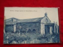 Ver os detalles de:  Tarxeta postal: Noia (Noya) - Antiga Igrexa de Santa María a Nova. 1920