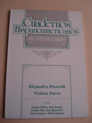 CUADERNOS HISPANOAMERICANOS. lOS COMPLEMENTARIOS, VOL. 5: Alejandra Pizarnik - Violeta Parra. Mayo, 1990 - Ver os detalles do produto