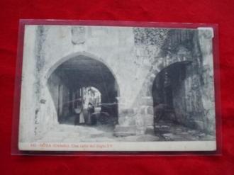 Tarxeta postal: Noia (Noya)- Unha rúa do século XV. 1920 - Ver los detalles del producto