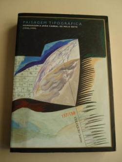 Ver os detalles de:  COLÓQUIO LETRAS. Revista bimestral. Número 157 - 158. Julho-Decembro 2000. Homenagem a Joâo Cabral de Melo Neto