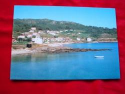 Ver os detalles de:  Tarxeta postal: Esteiro-Muros (A Coruña). Praia de Medrón. Anos 70