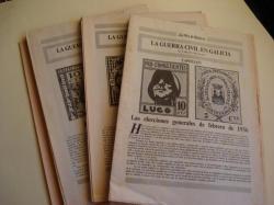 Ver os detalles de:  La Guerra Civil en Galicia. XXIV fascículos sin encuadernar