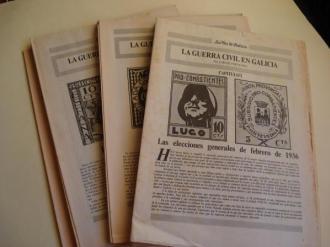 La Guerra Civil en Galicia. XXIV fascículos sin encuadernar - Ver os detalles do produto