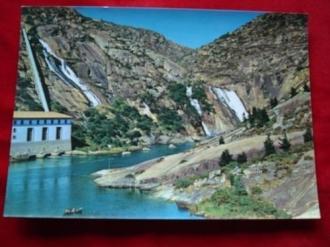 Tarxeta postal: Fervenza e central eléctrica do Ézaro (A Coruña) Anos 70 - Ver los detalles del producto