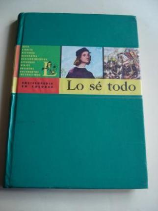 Lo sé todo. Enciclopedia en colores. Tomo V - Ver os detalles do produto