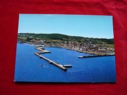 Ver os detalles de:  Tarxeta postal: Ribeira (A Coruña). Vista aérea. Década 1970