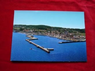 Tarxeta postal: Ribeira (A Coruña). Vista aérea. Década 1970 - Ver los detalles del producto