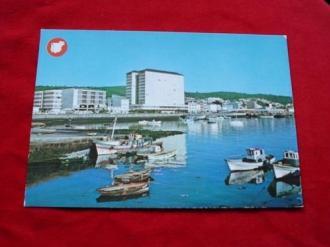 Tarxeta postal: Ribeira (A Coruña). Vista parcial do porto. Década 1970 - Ver los detalles del producto