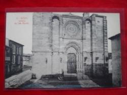 Ver os detalles de:  Tarxeta postal: Noia (Noya) -Igrexa de San Martiño. 1920