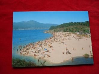 Tarxeta postal: Porto do Son (A Coruña). Portosín-Praia da Ornanda. Década 1970 - Ver los detalles del producto