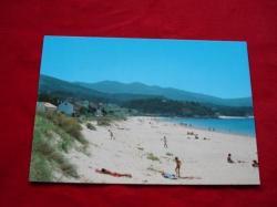 Ver os detalles de:  Tarxeta postal: Porto do Son (A Coruña). Portosín-Praia de Coira. Década 1970