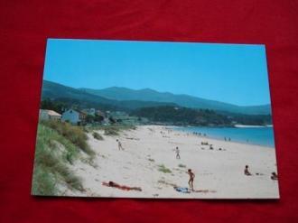 Tarxeta postal: Porto do Son (A Coruña). Portosín-Praia de Coira. Década 1970 - Ver los detalles del producto