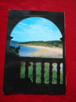 Ver os detalles de:  Tarxeta postal: Porto do Son (A Coruña). Portosín-Praia da Ornanda. Década 1970