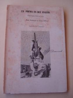 Ver os detalles de:  Un poema en dez anacos. Dun homaxe a Joan Oliver. Galego-Catalán. Con notas do autor. Versión galega de Basilio Losada