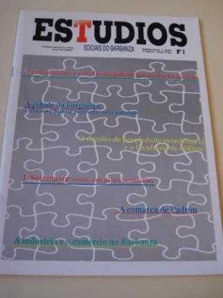 Estudios sociais do Barbanza. Revista. Número 2 - Ver os detalles do produto