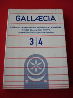Ver os detalles de:  GALLAECIA. Nº 3-4. Año 1977 / 1978. Publicación del departamento de Prehistoria y arqueología. Facultad de Geografía e Historia. Universidad de Santiago de Compostela (Traballos en galego e español)