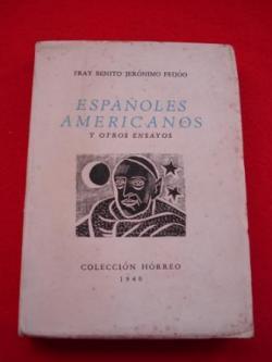 Ver os detalles de:  Españoles americanos y otros ensayos