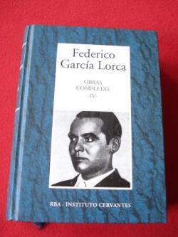 Ver os detalles de:  Obras completas IV. Prosa II. Correspondencia 1910-1936