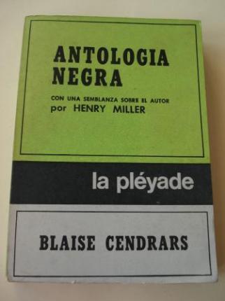 Antología negra. Con una semblanza sobre el autor por Henry Miller - Ver os detalles do produto