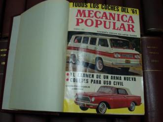 MECÁNICA POPULAR. Año 1961 completo encuadernado en un tomo - Ver os detalles do produto