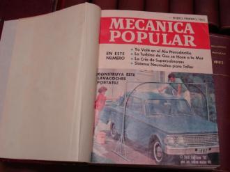 MECÁNICA POPULAR. Año 1962 completo encuadernado en un tomo - Ver os detalles do produto