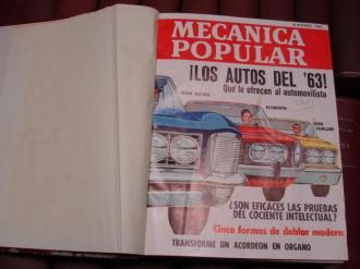 MECÁNICA POPULAR. Año 1963 completo encuadernado en un tomo - Ver os detalles do produto