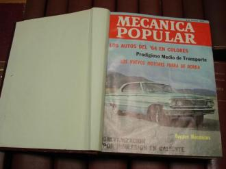MECÁNICA POPULAR. Año 1964 completo encuadernado en un tomo - Ver os detalles do produto