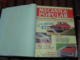 MECÁNICA POPULAR. Año 1965 completo encuadernado en un tomo - Ver os detalles do produto