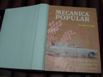 MECÁNICA POPULAR. Año 1966 completo encuadernado en un tomo - Ver os detalles do produto
