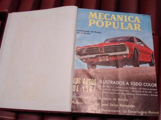 MECÁNICA POPULAR. Año 1967 completo encuadernado en un tomo - Ver os detalles do produto