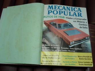 MECÁNICA POPULAR. Año 1968 completo encuadernado en un tomo - Ver os detalles do produto