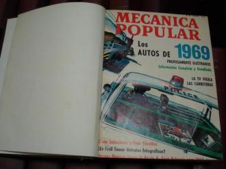 MECÁNICA POPULAR. Año 1969 completo encuadernado en un tomo - Ver os detalles do produto