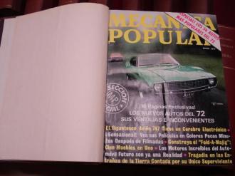 MECÁNICA POPULAR. Año 1972 completo encuadernado en un tomo - Ver os detalles do produto