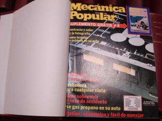 MECÁNICA POPULAR. Año 1980 completo encuadernado en un tomo - Ver os detalles do produto