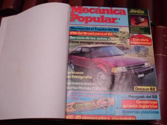 MECÁNICA POPULAR. Año 1982 completo encuadernado en un tomo - Ver os detalles do produto