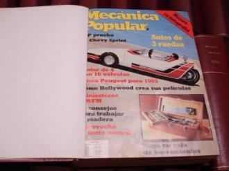 MECÁNICA POPULAR. Año 1985 completo encuadernado en un tomo - Ver os detalles do produto